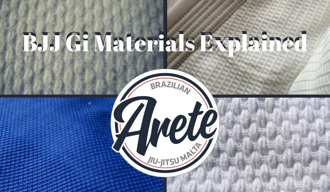 BJJ Gi materials explained