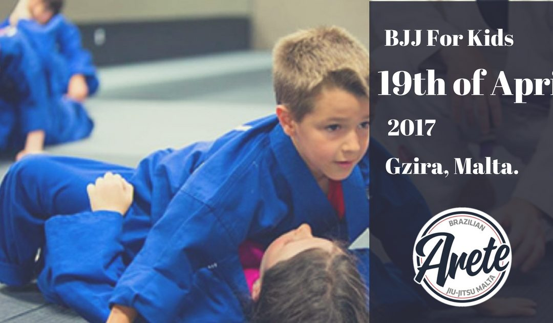 Brazilian Jiu-Jitsu program for Kids starting on 19th of April