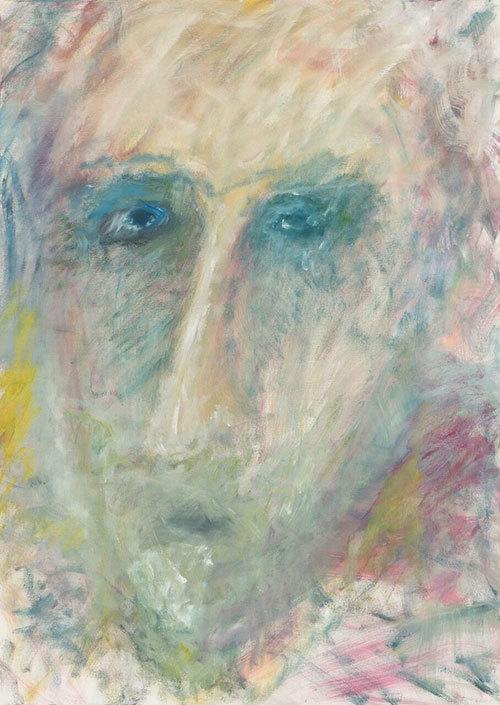 Afaf Zurayk, Shifting Lights VII, 5/9, 2015-2016. 140x100 cm. Oil on canvas. Photo credit Noel Nasr
