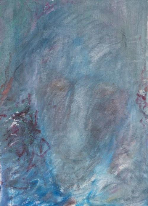 Afaf Zurayk, Shifting Lights IV, 2/9, 2015-2016. 140x100 cm. Oil on canvas.  Photo credit Noel Nasr