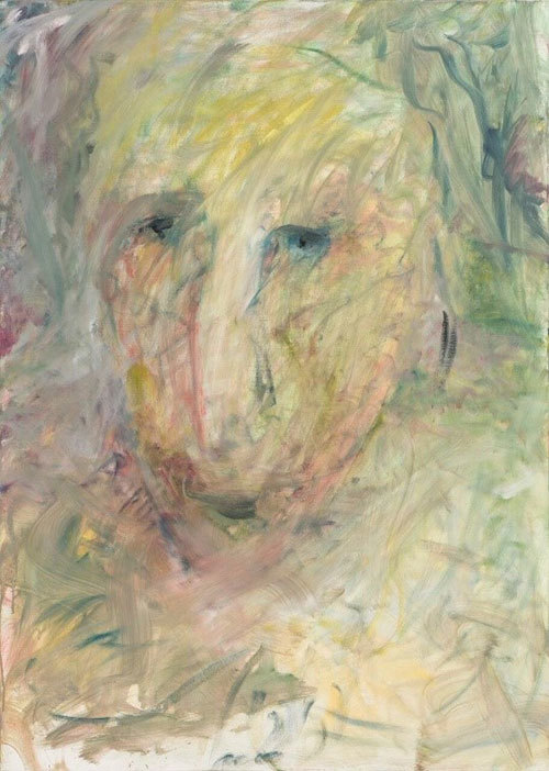 Afaf Zurayk, Shifting Lights VI, 4/9, 2015-2016. 140x100 cm. Oil on canvas