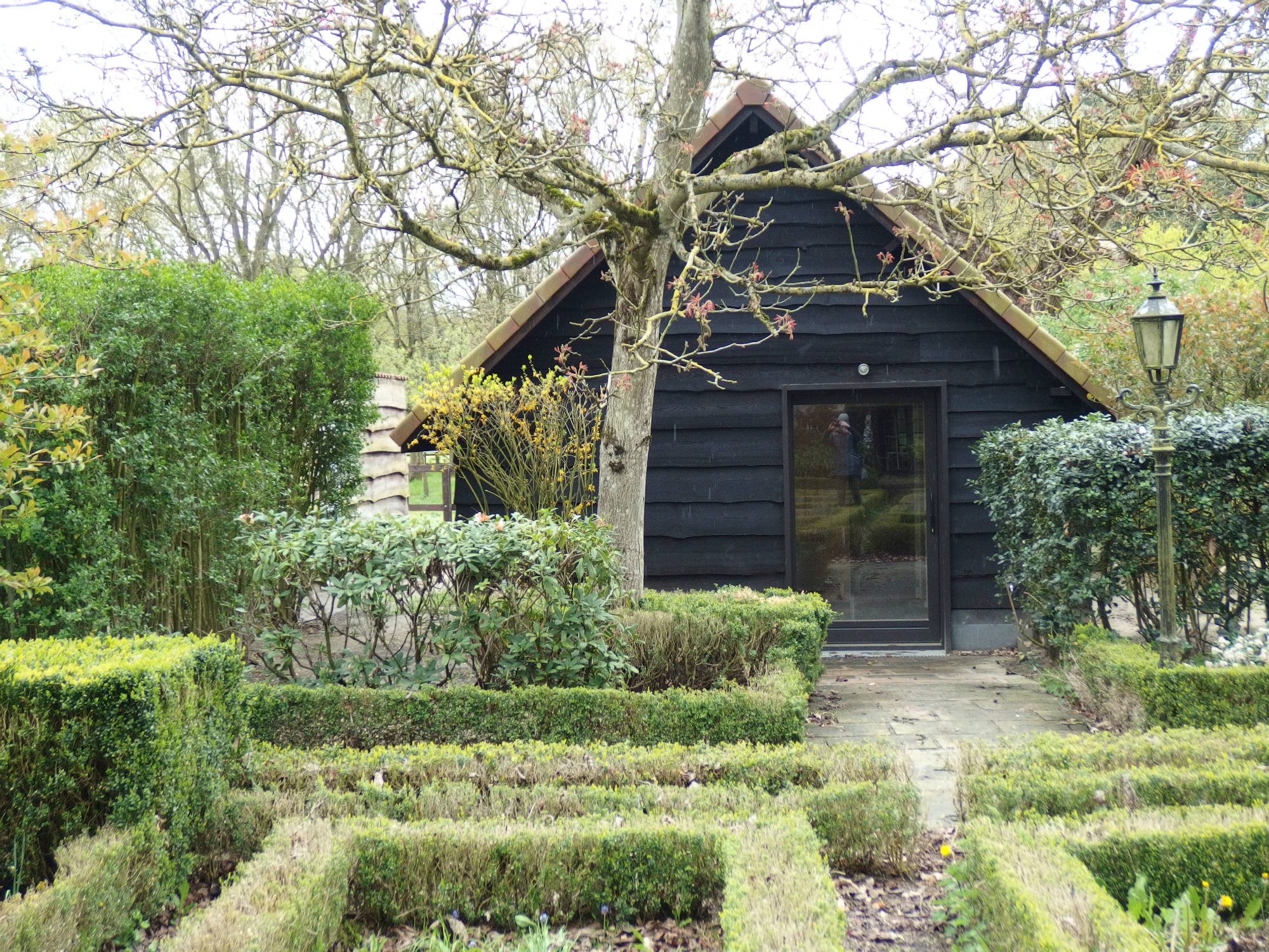 brasschaat cabane ariane delacre architecte. Black Bedroom Furniture Sets. Home Design Ideas