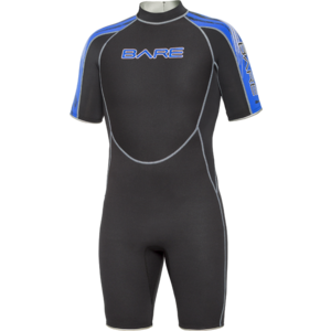 Category sidebar 2mm velocity shorty bare neoprene dive suites