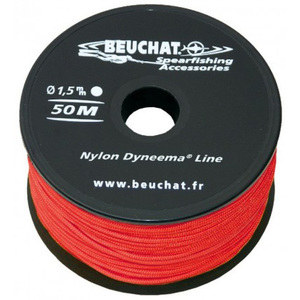 Category sidebar line for spearguns bobines 50m de fil dyneema rouge 15mm