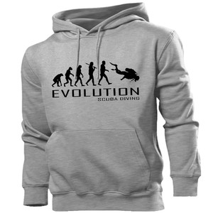 Category sidebar sweatshirts evolution of scuba diving hoodie