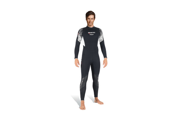 Brand logo mares diving wetsuits reef man