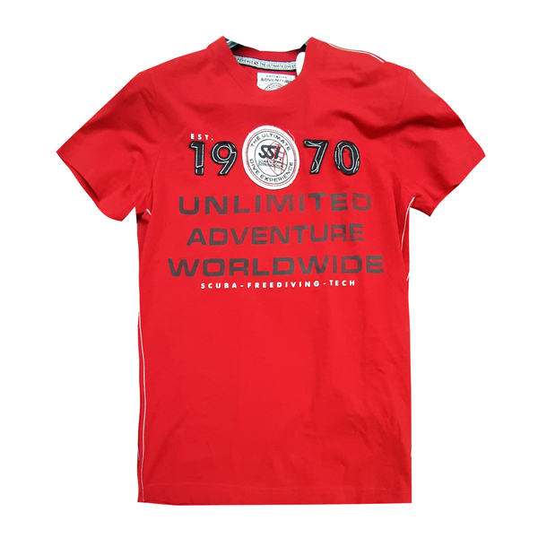 UNLIMITED red shirt