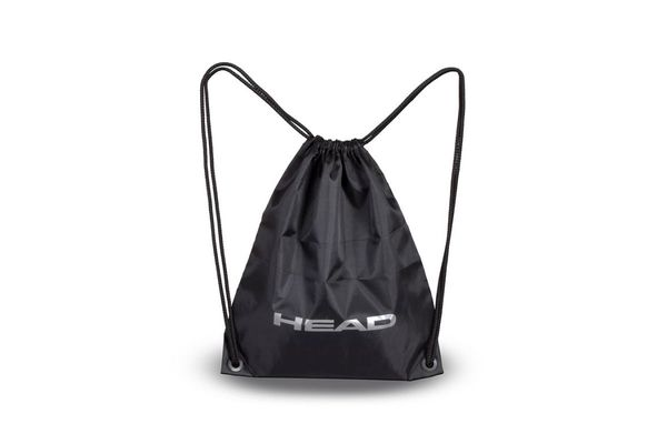Brand logo head sling bag bk