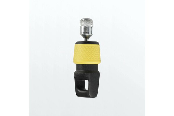 Brand logo magnetic connector yellow