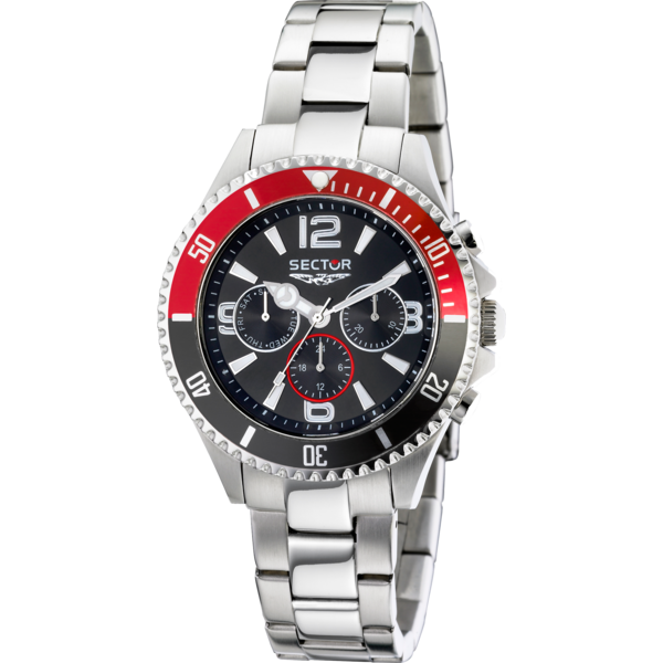 Sector 230 Gent Multifunction 43mm Fekete