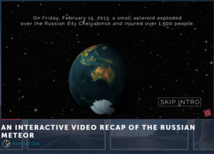 Interactive Activities You Can Do From Home - Asteroid Day