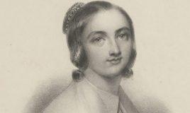 Anna Maria van Schurman. Collectie: Atria (IAV100014931)