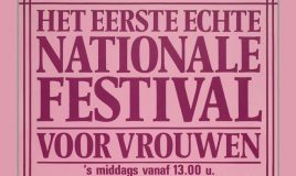affiche vrouwenfestifal poster