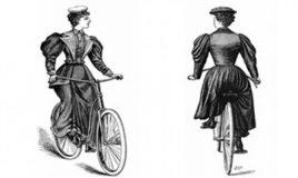 vrouw en de fiets