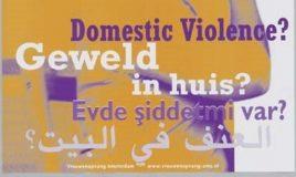 domestic violence geweld in huis vrouwenopvang Amsterdam