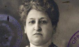 paspoort van Aletta Jacobs