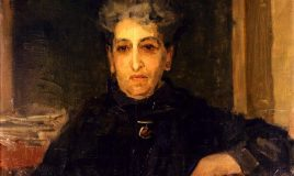 schilderij Isaac Israëls - portret van Aletta Jacobs, 1919