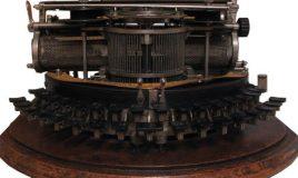 Johanna Naber typemachine schrijvende vrouw