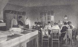 Beroepsschool Belgische vrouwen geinterneerden tijdens Eerste Wereldoorlog