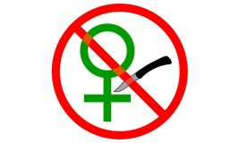 tegen vrouwenbesnijdenis