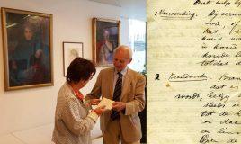 overhandiging brieven Aletta Jacobs aan Atria