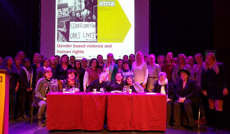 groepsfoto symposium gender based violence