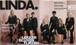 lekker blijven flirten Linda. magazine cover