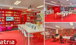 verhuur zalen in centrum Amsterdam bij Atria auditorium en bibliotheek