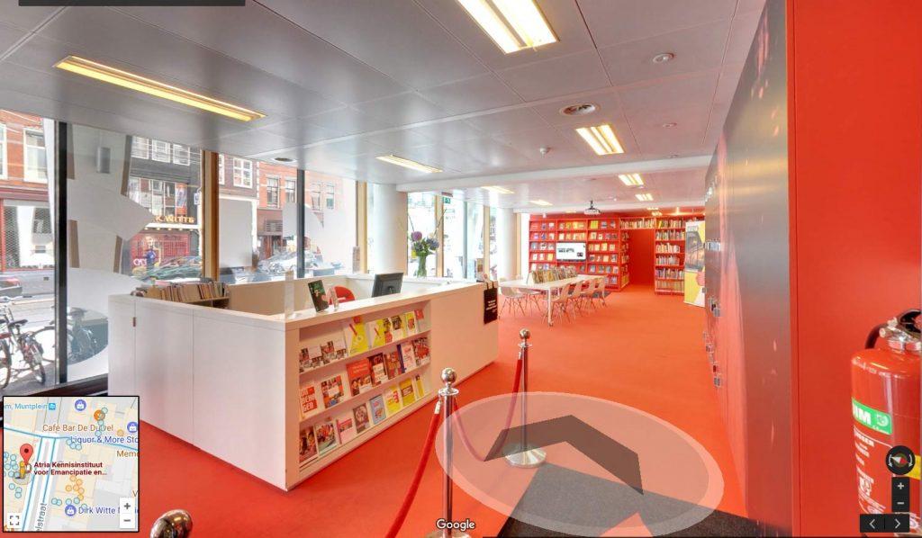 Bekijk 360 bibliotheek Atria in Amsterdam