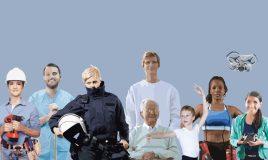 beeld van verschillende mensen werk en de toekomst