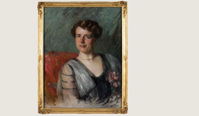 Welmoet Wijnaendts Francken-Dyserinck door de ogen van Thérèse Schwartze (Collectie IAV)