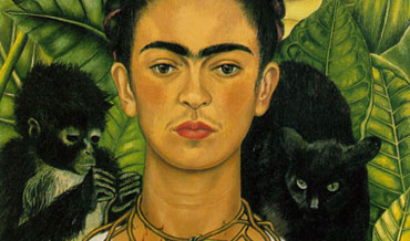 Frida Kahlo wenkbrauwen unibrow