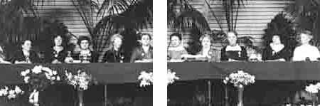 bestuur van het International Women's Congres for Permanent Peace