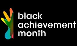 logo black achievement month 2018