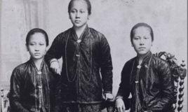 Raden Adjeng Kartini en haar zusters, uit de collectie Atria: F244-99