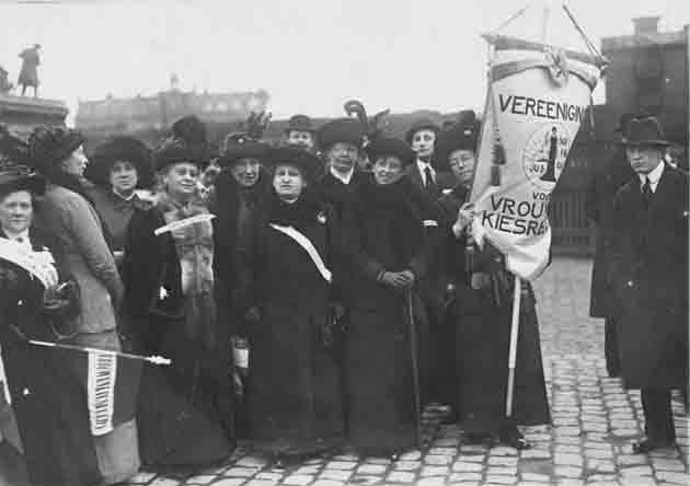 vrouwenkiesrechtdemonstratie 1914
