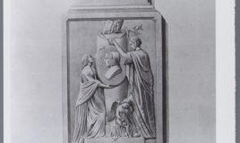gravure van monument Anna Barbara van Meerten Schilperoort | collectie: Atria