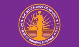 logo 100 jaar vrouwenkiesrecht groningen