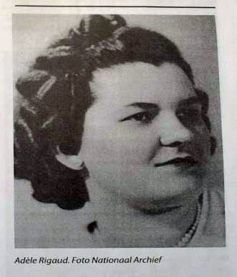 portret van adele rigaud oprichter vrouwenvleugel katholieke volkspartij op curacao