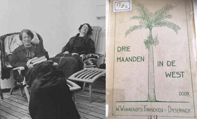 welmoet wijnaendts francken dyserinck op reis in de jaren 30