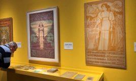 affiches uit collectie iav atria op tentoonstelling strijd in groninger museum