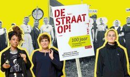 activisten van toen en nu op tentoonstelling de straat op