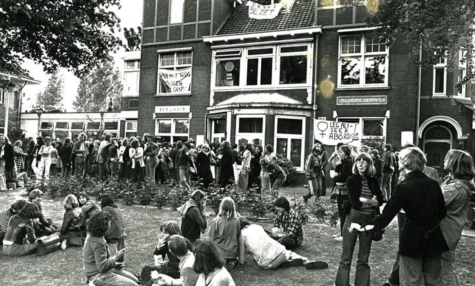 bezetting abortuskliniek bloemenhove 1976