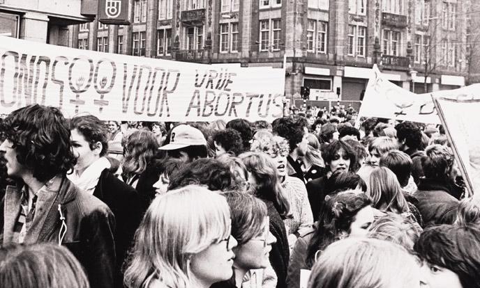 vrouwenstaking 30 maart 1981