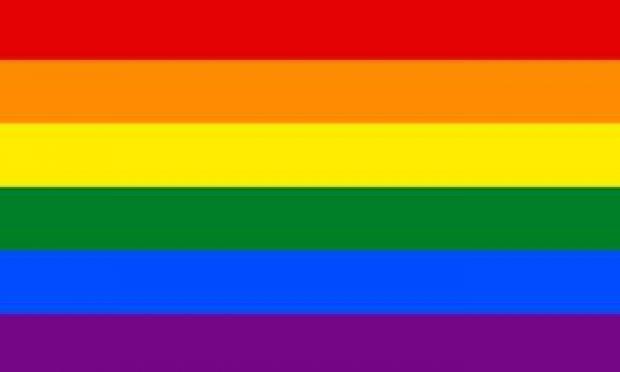 lhbti regenboog vlag