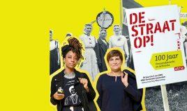 activisten van toen en nu op tentoonstelling de straat op in oba