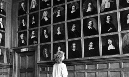 Senaatszaal in het academiegebouw van de Rijksuniversiteit Utrecht