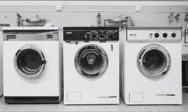 3 wasmachines uit 1989 taakverdeling mannen en vrouwen