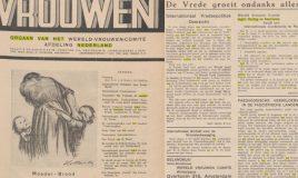 paginas uit tijdschrift vrouwen in portal delpher