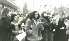 vrouwenstaking in den bosch op 30 maart 1981